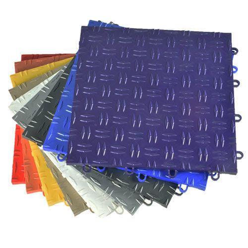 Blocktile Garage Flooring Interlocking Tiles Coin Top 30 Pack
