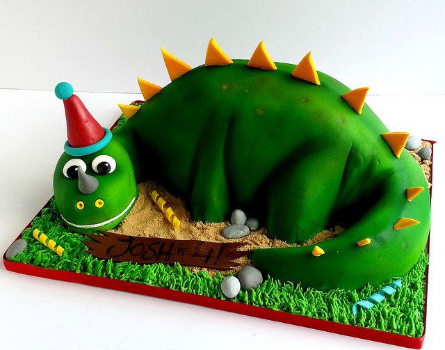 Dinosaur birthday cake | Flickr - Photo Sharing!