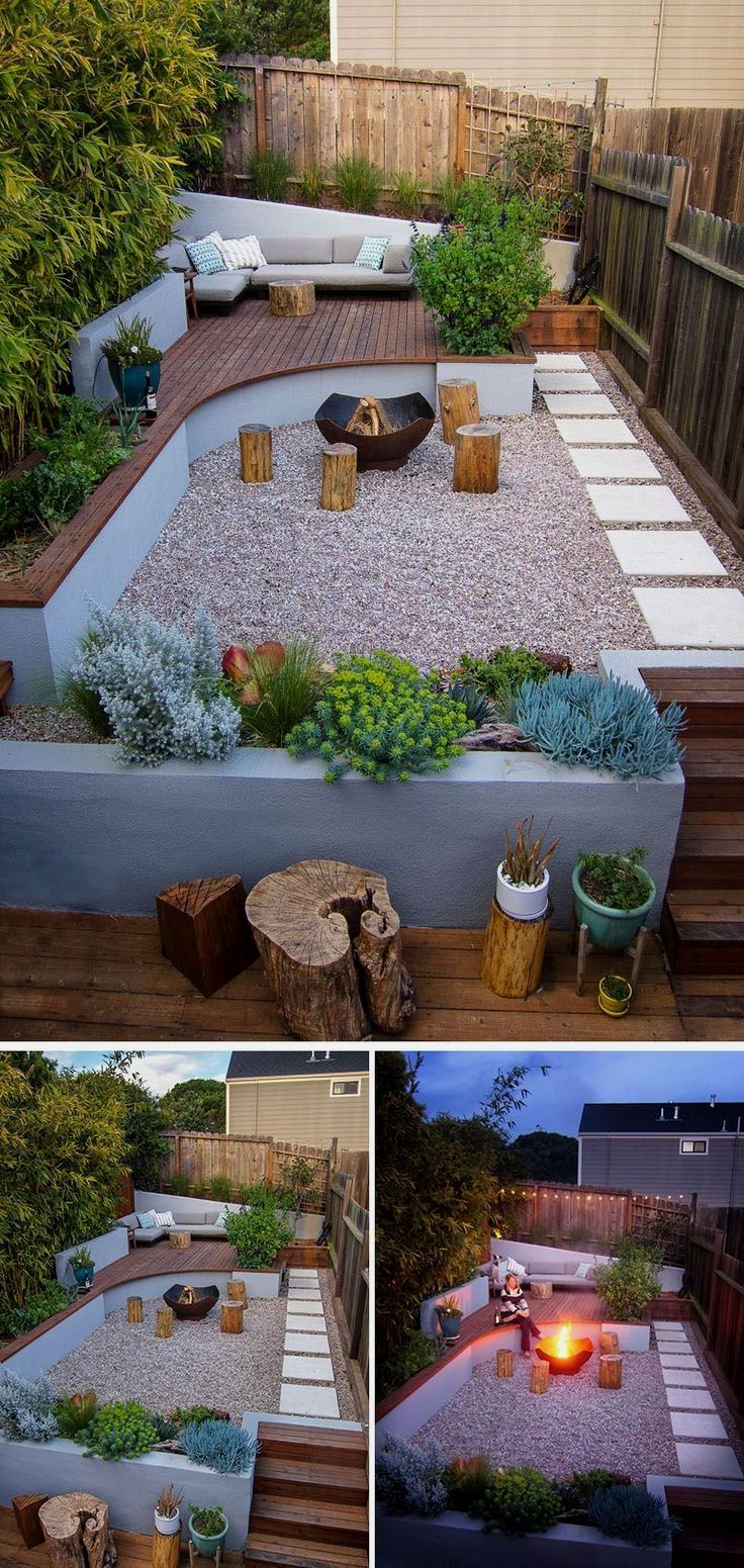 Photo of This Small Backyard In San Francisco Was Designed For Entertaining