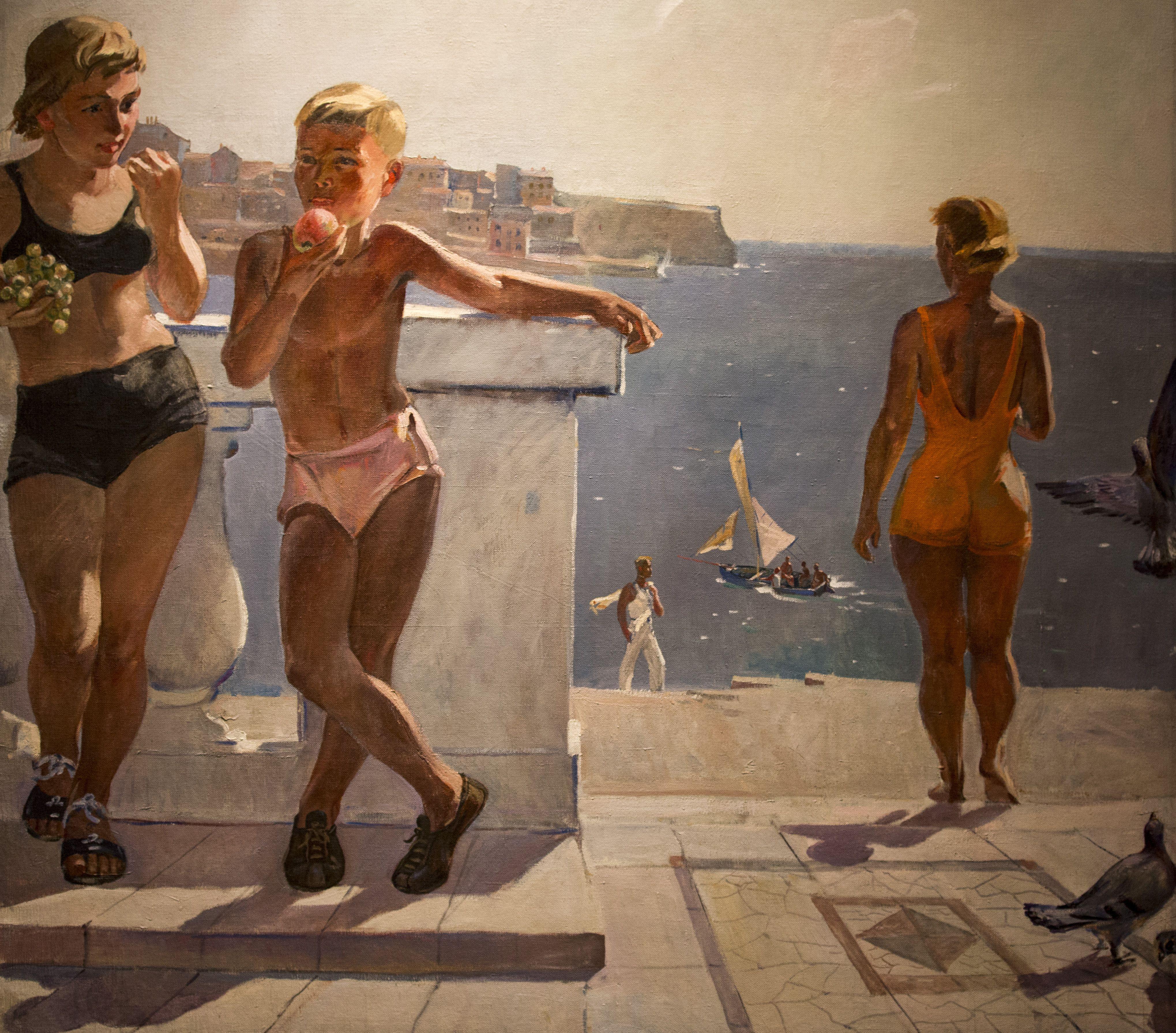 пасмурных картины соцреализма с названиями и авторами фото рыба