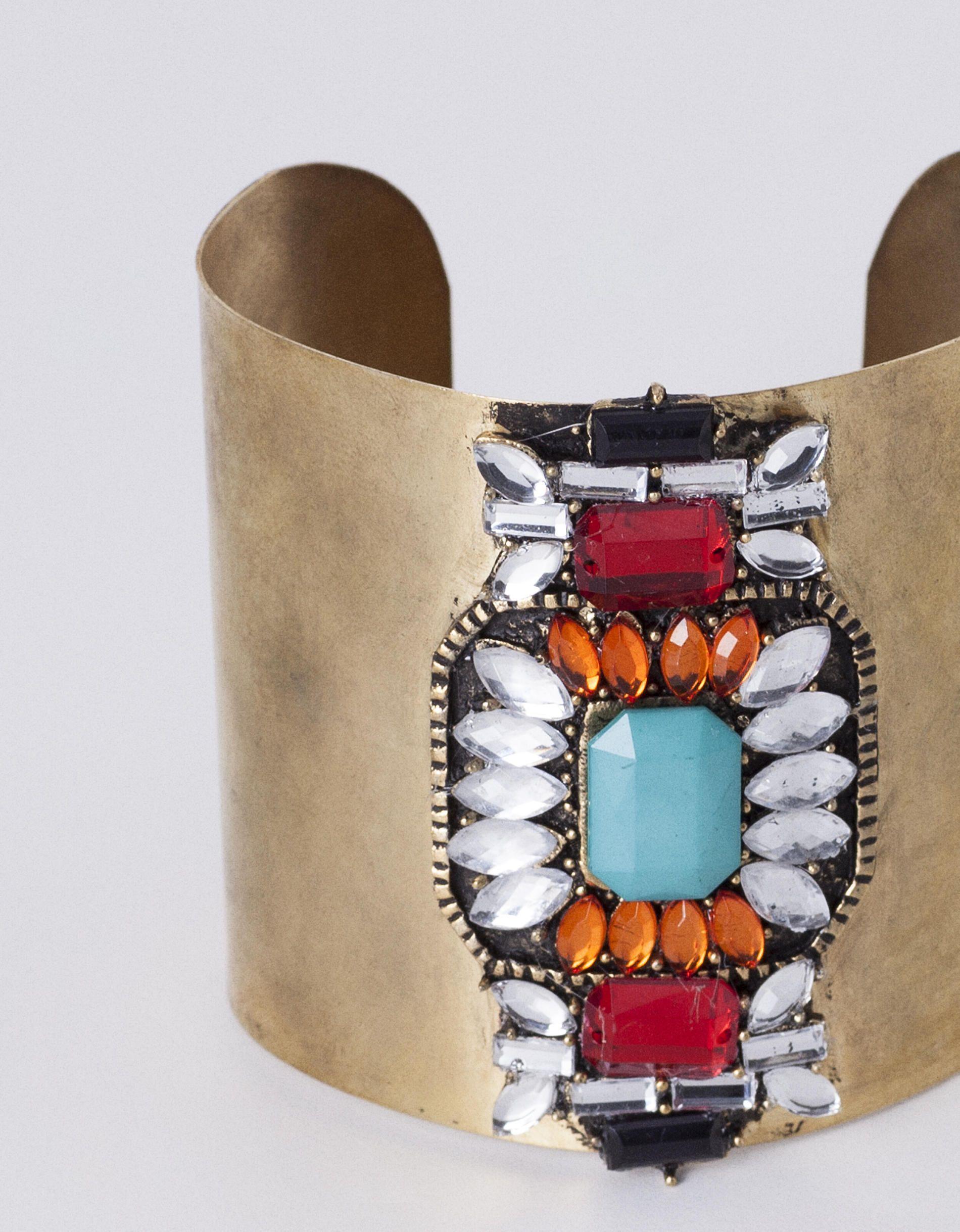 Blanco | Bracelete strass