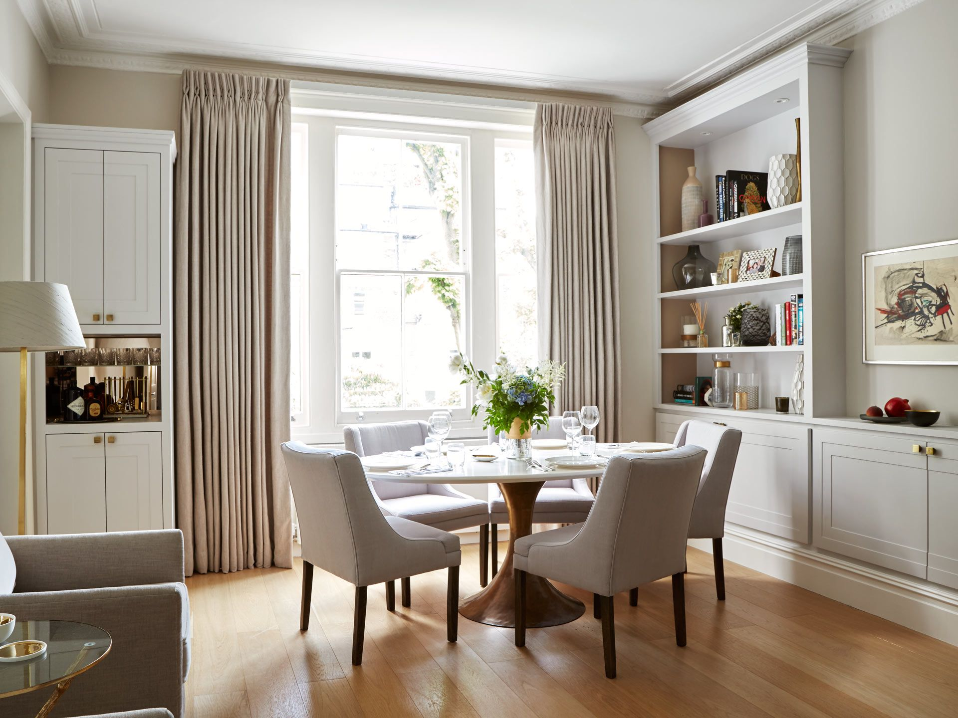 Earls Court Apartment  Dining Room  Dining Rooms  Pinterest Interesting Apartment Dining Room Inspiration Design