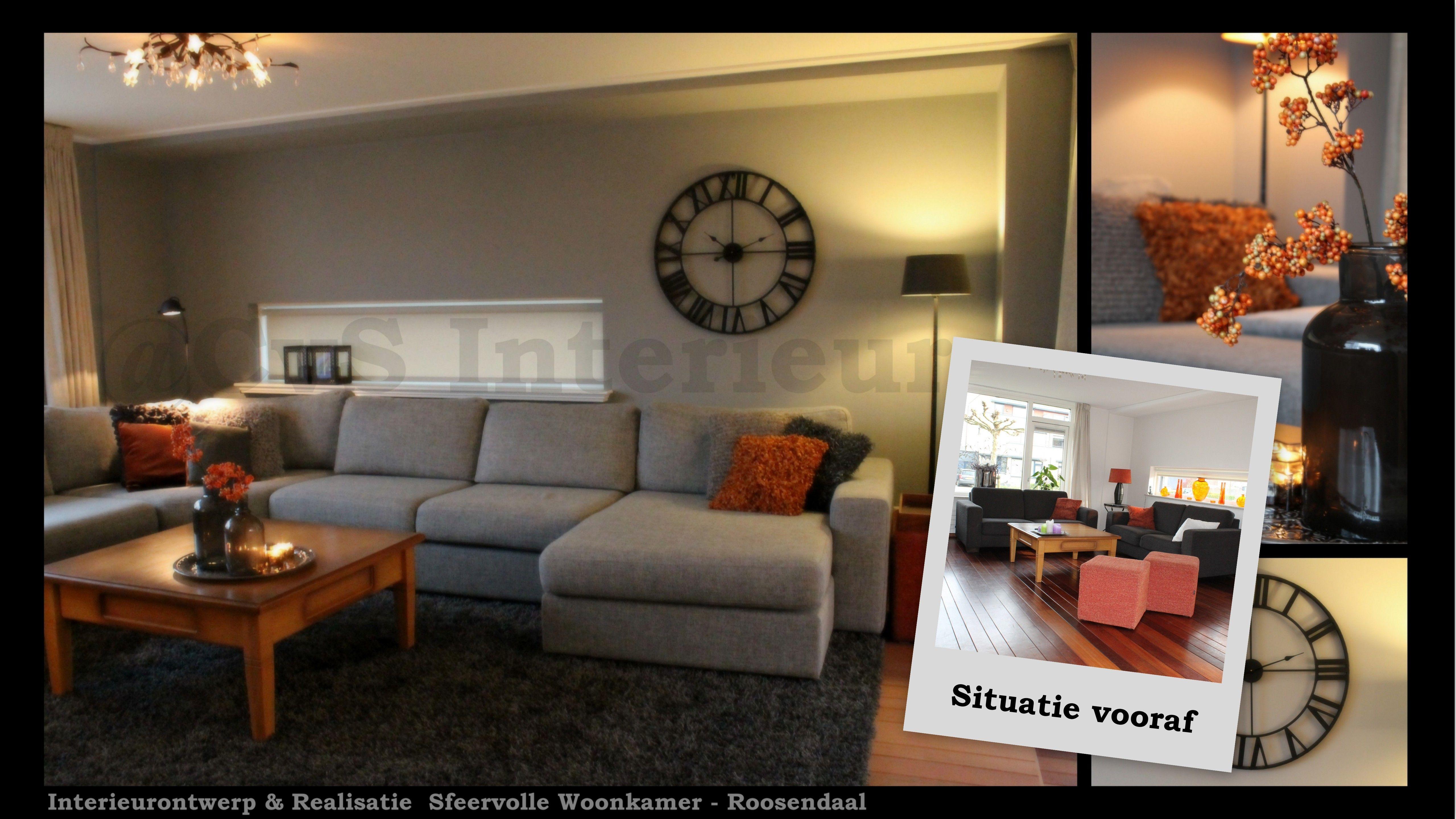 Restyling Woonkamer @CvS Interieurs | Interior Projects CvS ...