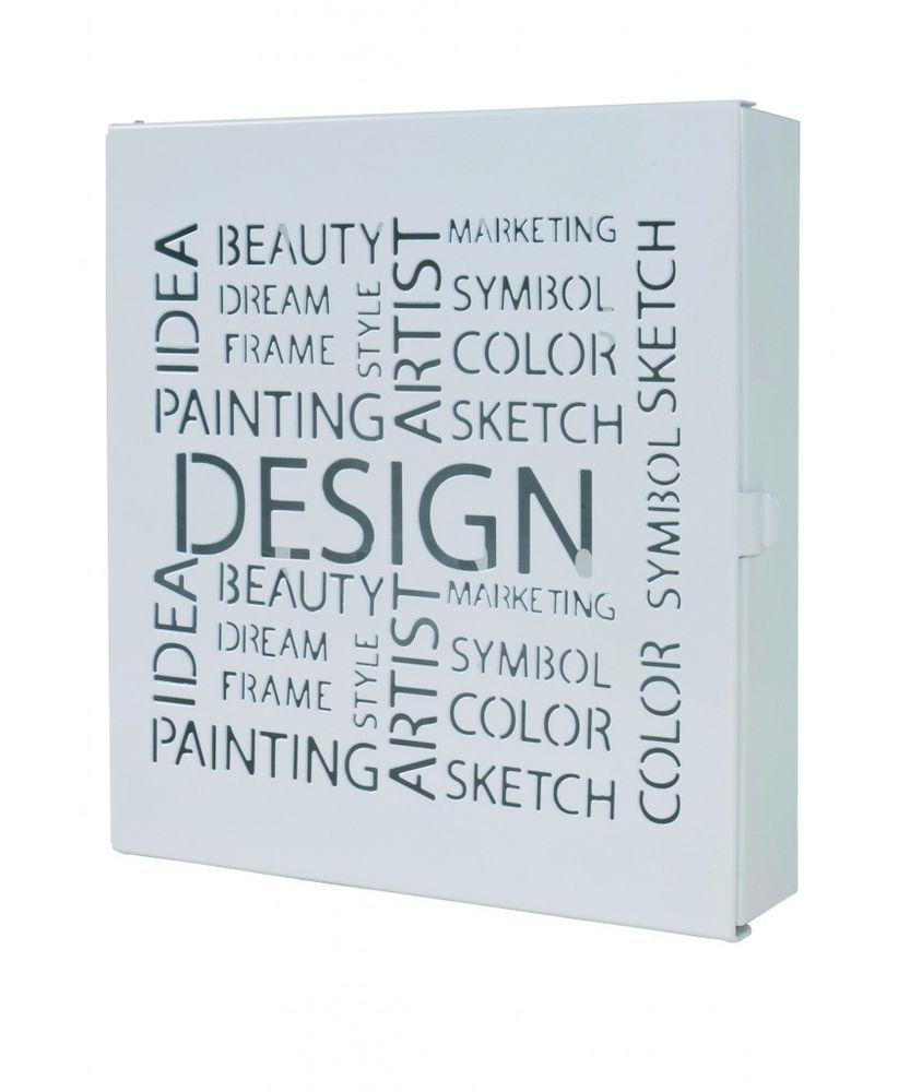 schl sselkasten schl sselbox paul in wei in m bel wohnen klein h ngeaufbewahrung. Black Bedroom Furniture Sets. Home Design Ideas