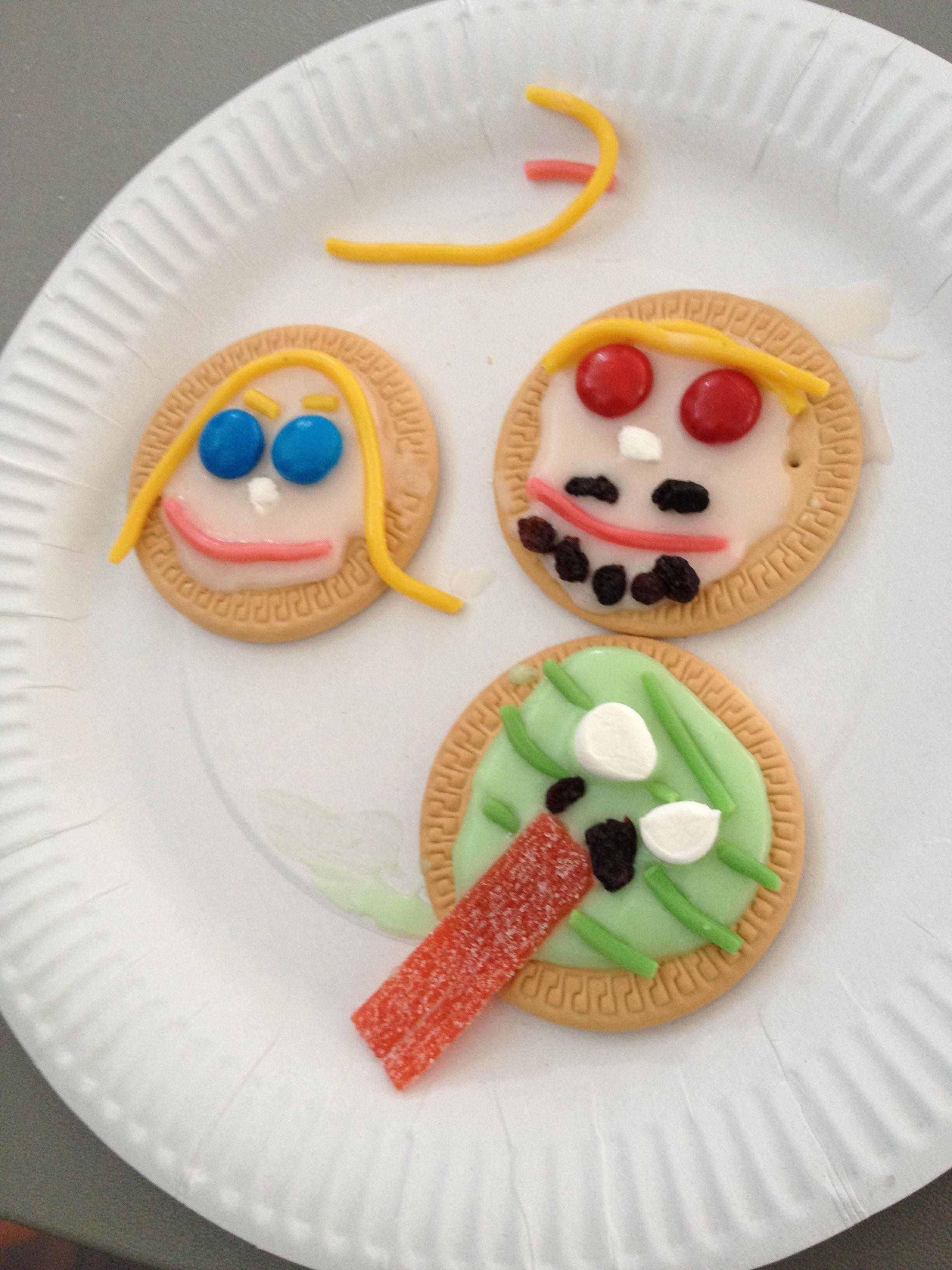 adam eve u0026 serpent decorated biscuits kids crafts pinterest