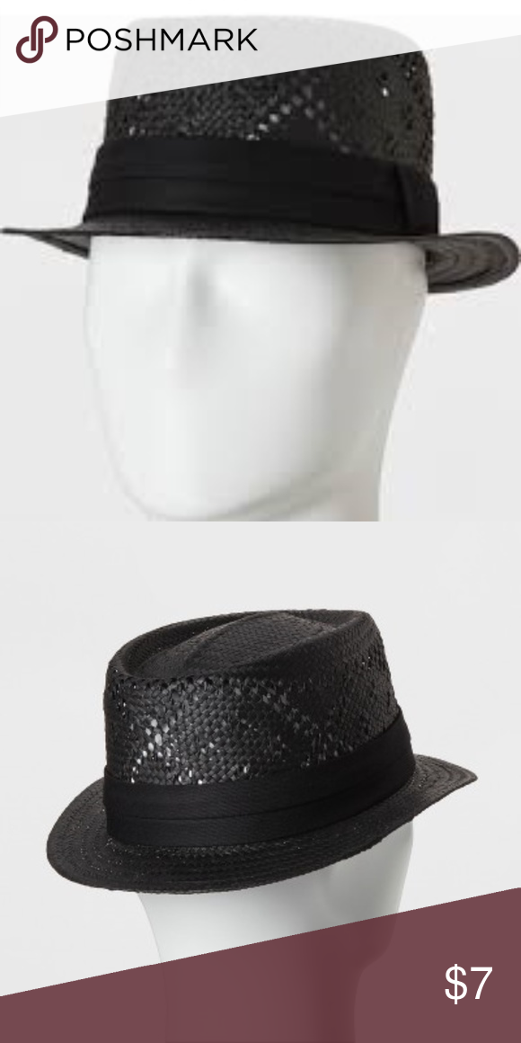 ae93f1e1d7a54 Men s Flat Brim Paper Vented Fitted Fedora This item is brand new with  tags. We strive to take the best pictures we can and of all angles that we  can.