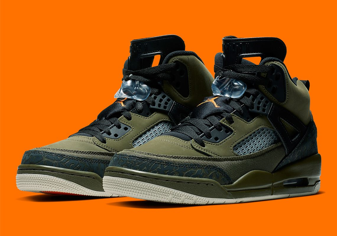 100% authentic 7947a 5b518 Jordan Spizike 315371-300 Olive Orange  thatdope  sneakers  luxury  dope   fashion  trending