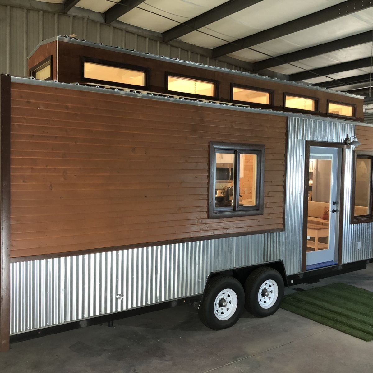 Award winning single level design tiny house for sale