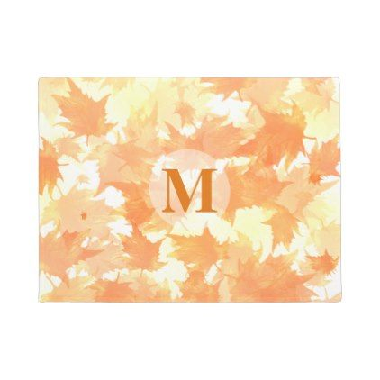 Monogram Door Mat