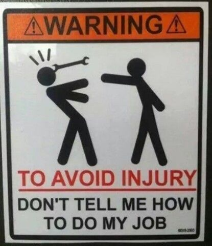 How to avoid injury....