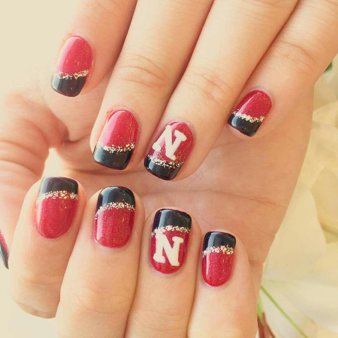 Nebraska Nail Art Nail Designs Pinterest