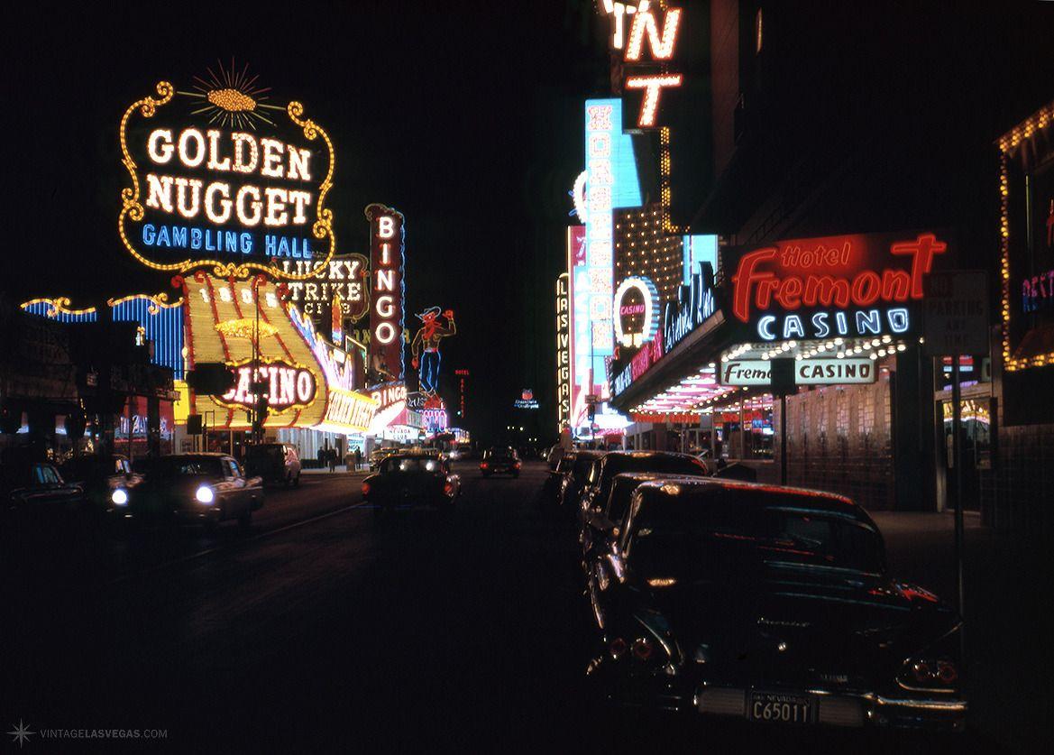Las Vegas 1962 Fremont St Between 2nd 3rd Looking West 58