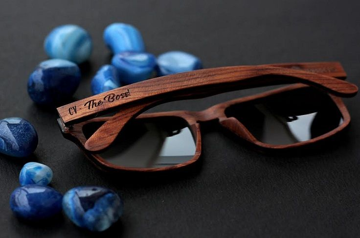 92899e246c6f4 Engraved wooden sunglasses. Personalize your sunglasses with any text on  the temple of the glasses with Woodgeek Store.  Sunglasses  Personalized   Engraved