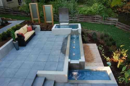 Fontaine De Jardin De Design Moderne Jardin Moderne Fontaine De