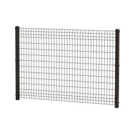 Ironcraft 47 In X 70 In Black Powder Coated Steel Fence