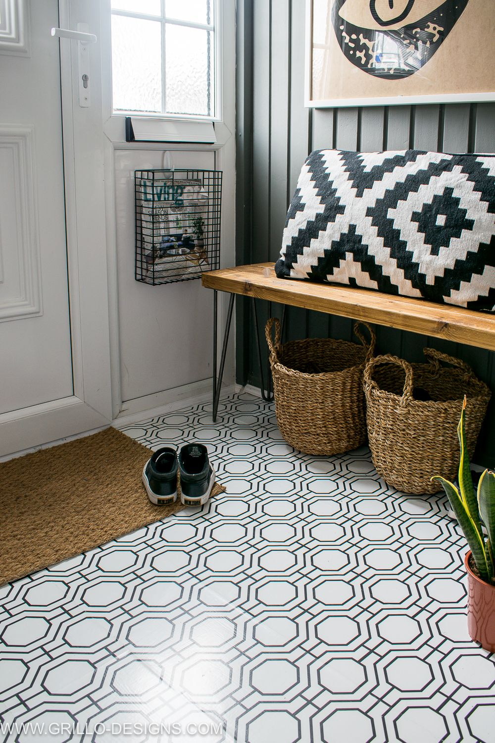 Wallpaper a floor for with modern contact paper grillo designs