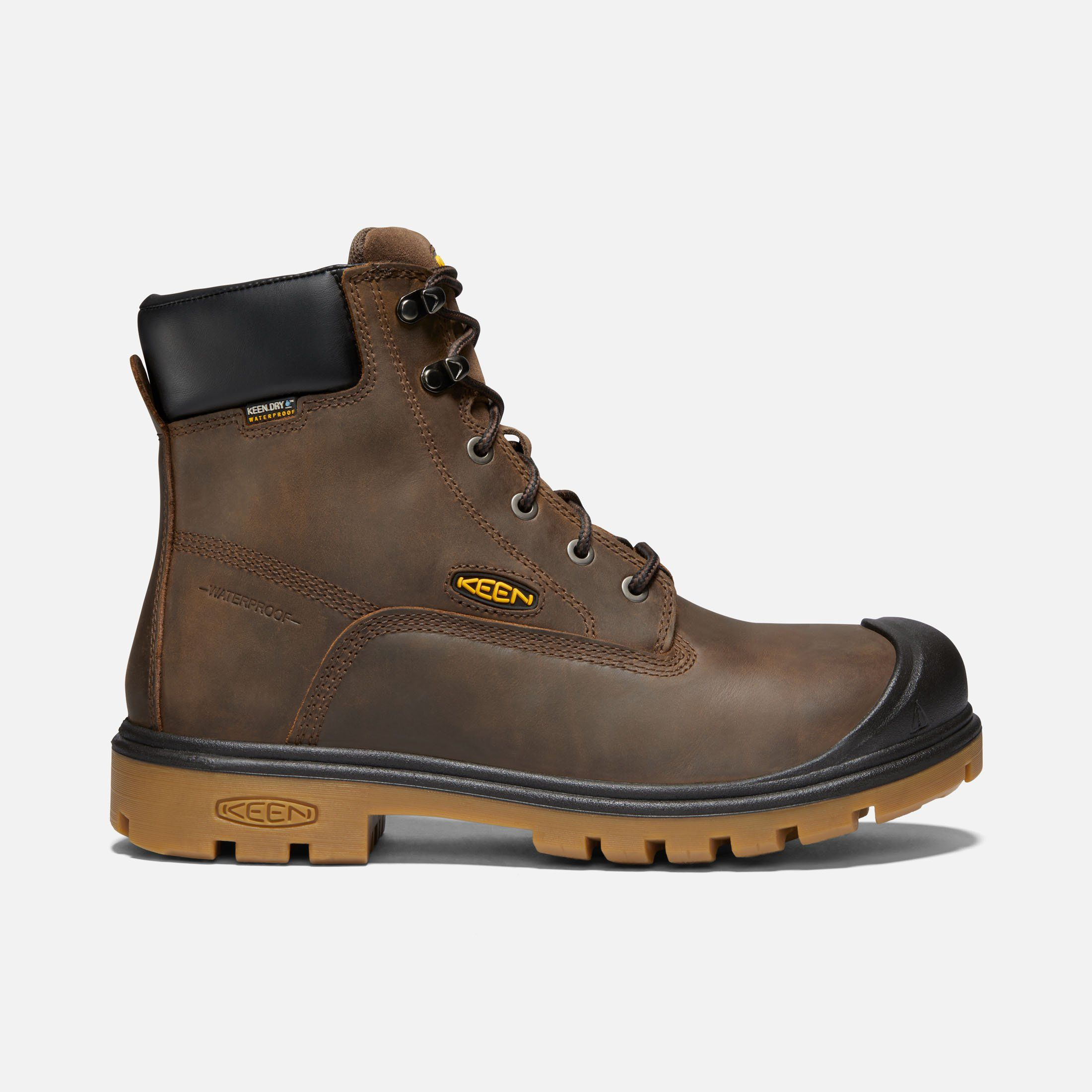 Keen Men S Waterproof Steel Toe Boots Baltimore 6 10 5 Wide