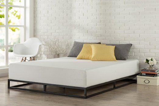 best loved b53ca 5b63a Zinus Modern Studio 6 Inch Platforma Low Profile Bed Frame ...