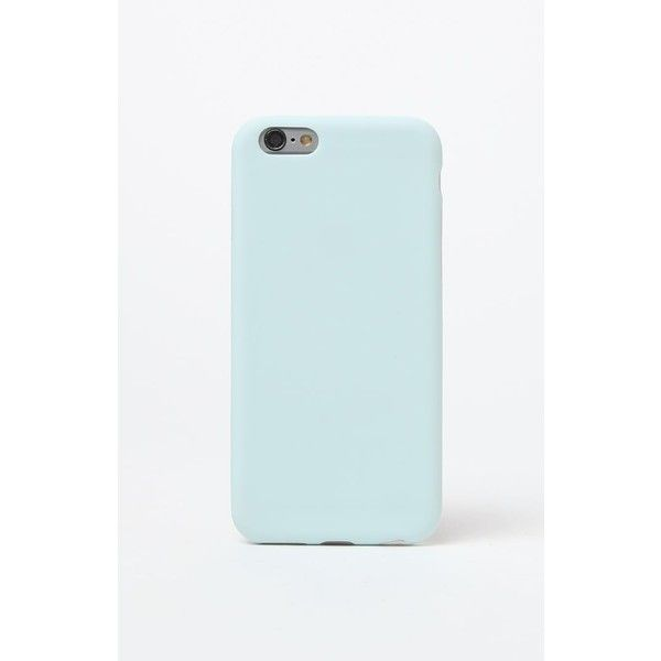 new concept bd8e9 f2c15 La Hearts Matte Baby Blue iPhone 6/6s Case ($15) ❤ liked on ...