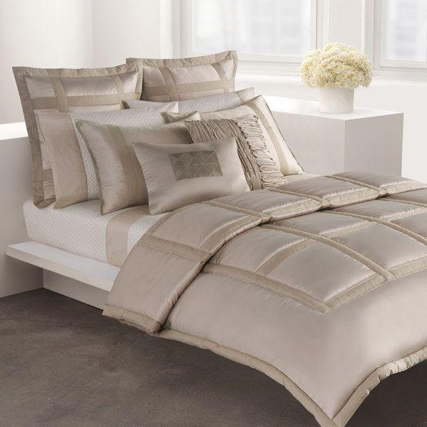 DKNY Lexington Mini Comforter Set - Taupe - Bed Bath & Beyond ...