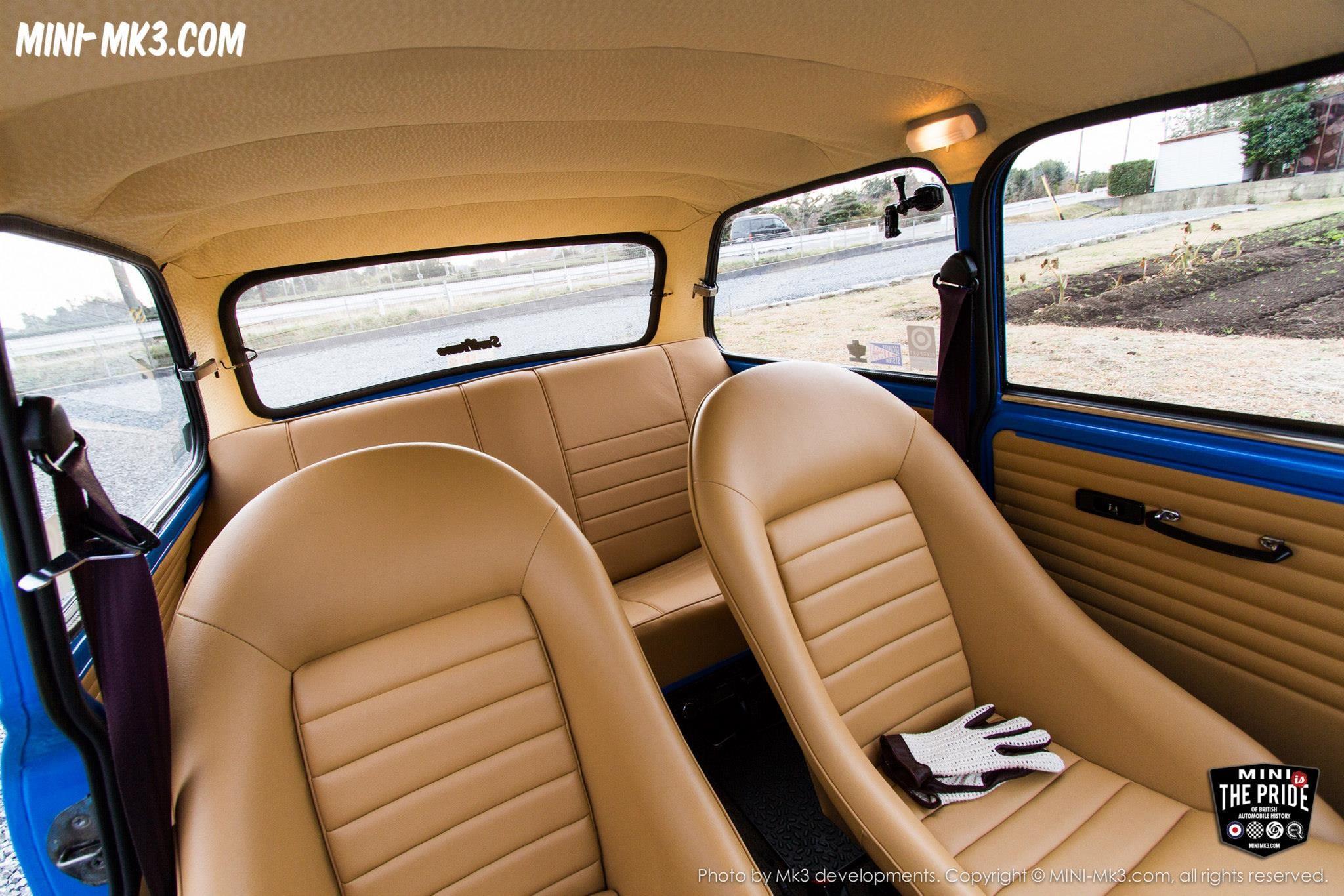 Tan Interior Vtec Mini Cooper Mini Cooper Classic Mini Cooper