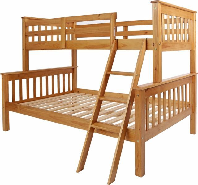 Best Neptune Antique Pine 3Ft 4Ft Bunk Beds Or Separate Beds 400 x 300