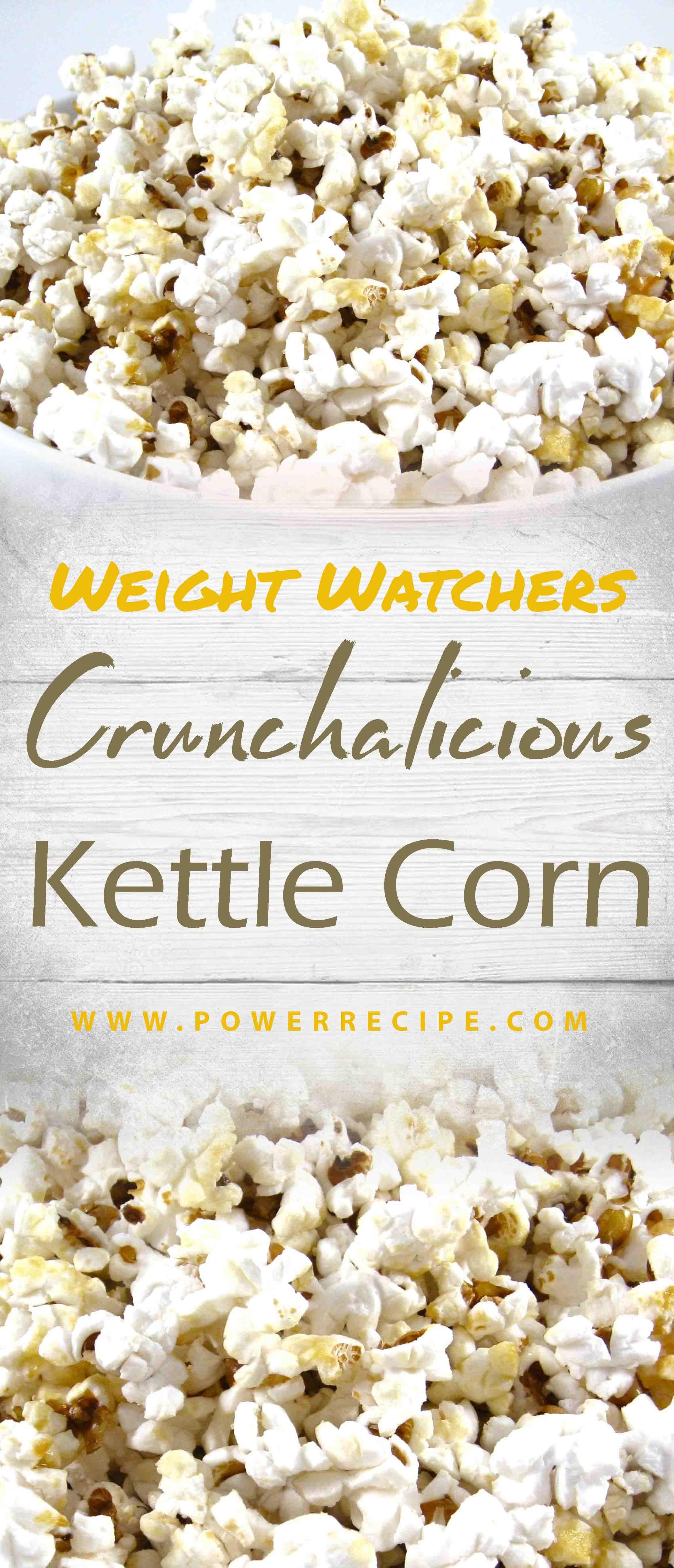 Crunchalicious Kettle Corn You Can Make At Home Healthy Recipe 2020 In 2020 Kettle Corn Kettle Corn Recipe Popcorn Recipes Healthy