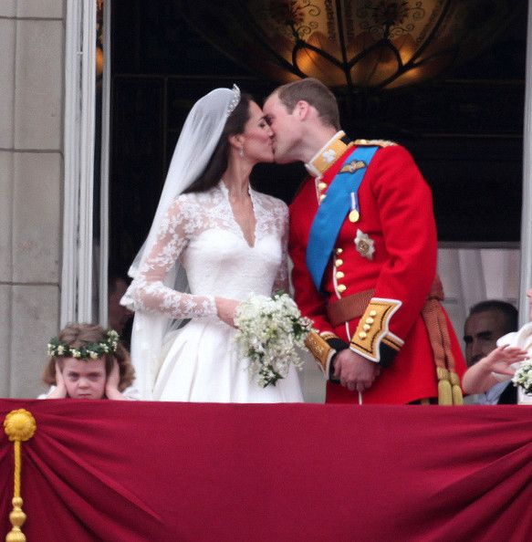 Gallery Royal Wedding Kisses: Kate Middleton Photos Photos: Royal Wedding At Buckingham