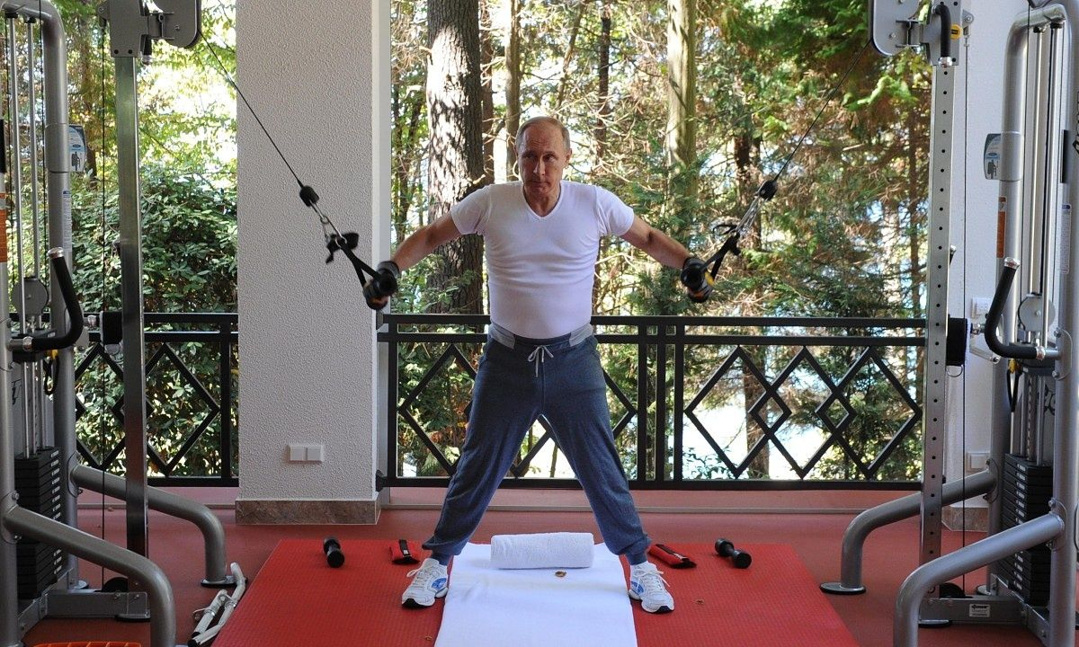 vladimir putin s workout montage video vladimir putin and prime