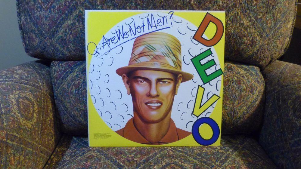 Devo Are We Not Men We Are Devo Vinyl Lp Bsk 3239 Punknewwave Are We Not Men Vinyl Men