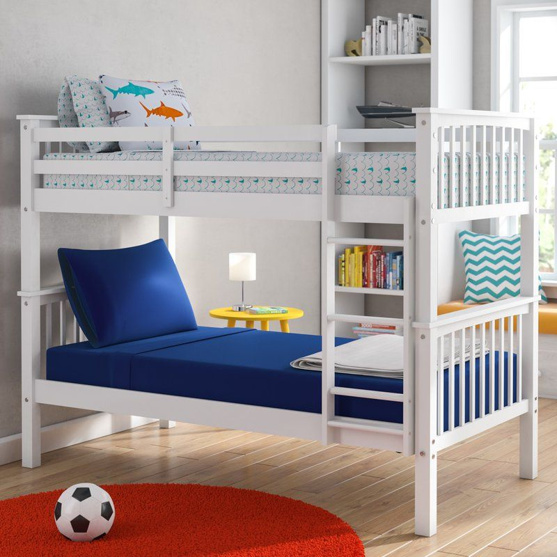 Best Speck Twin Over Twin Bunk Bed Reviews Birch Lane 400 x 300