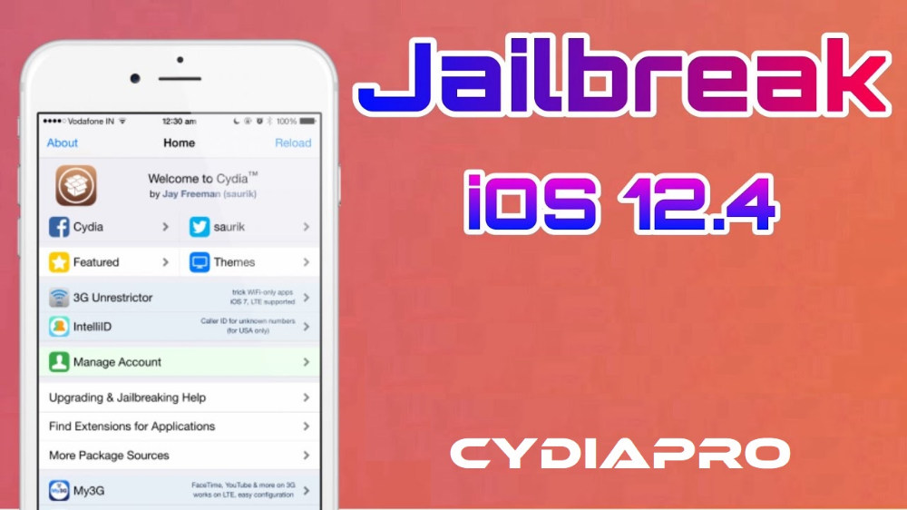 Here is the way to Download Cydia iOS 12.4 latest Cydia