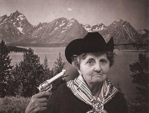 Granny's Got a Gun....