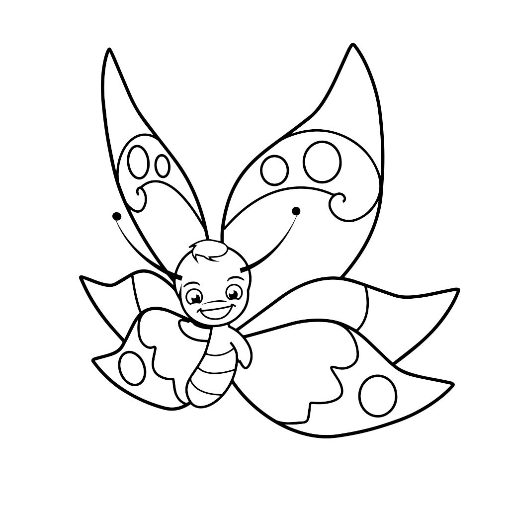 Butterfly Coloring Pages For Kids Android Iphone Ipad App Butterfly Coloring Page Butterfly Drawing Coloring Book App