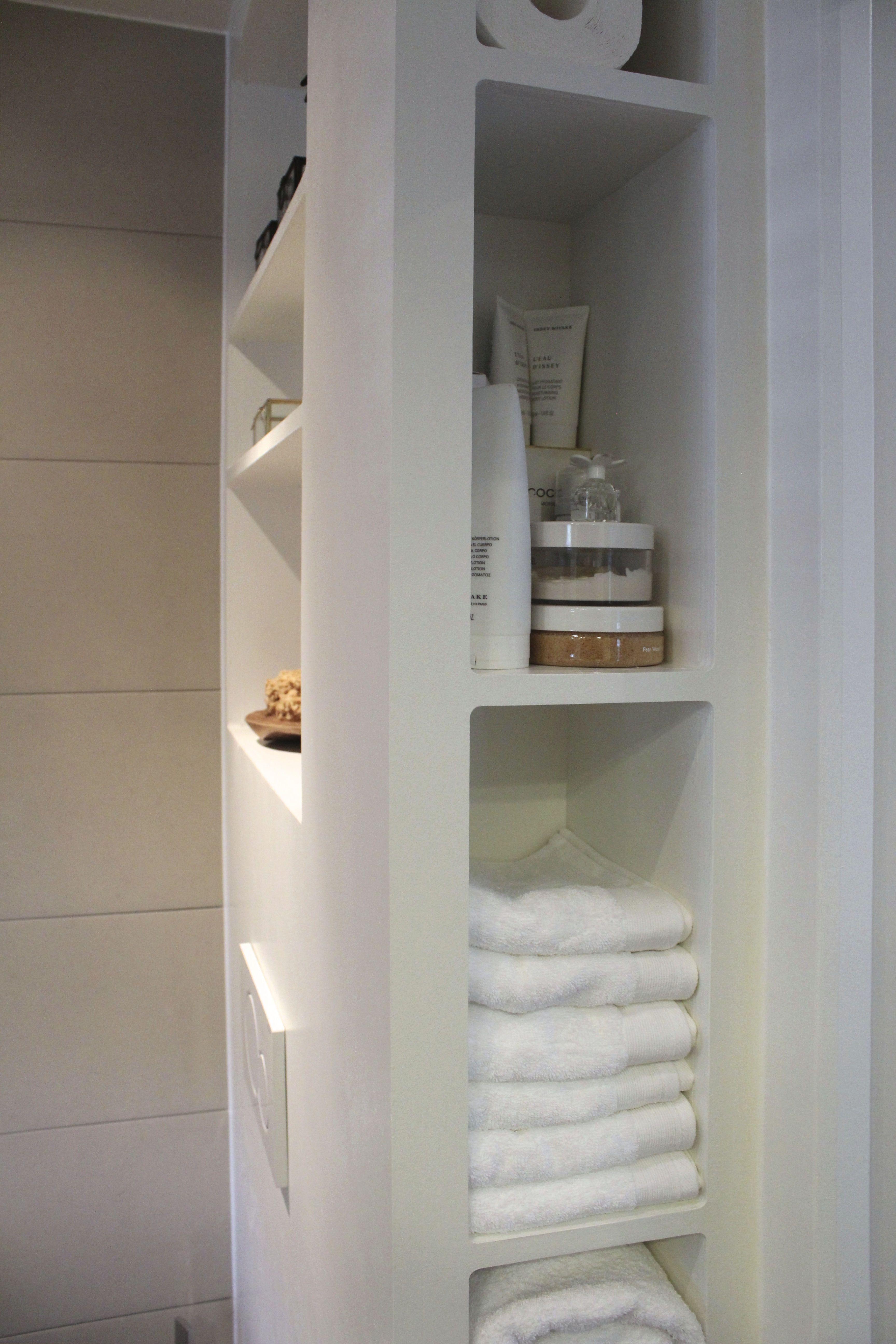 Badkamer inbouw nisjes   Badkamer ideeën   Pinterest