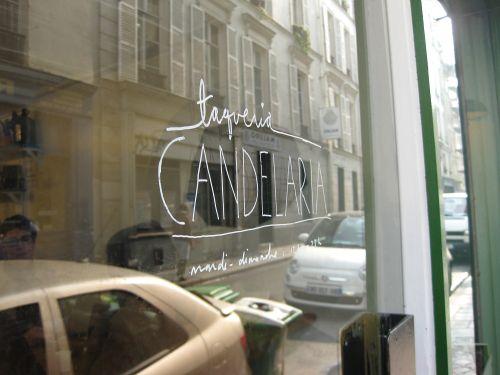 Candelaria, Paris