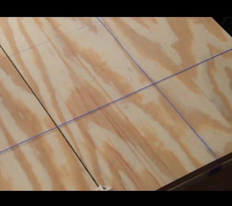 Laying Tile Over Plywood Ron Hazelton Home Repair Pinterest