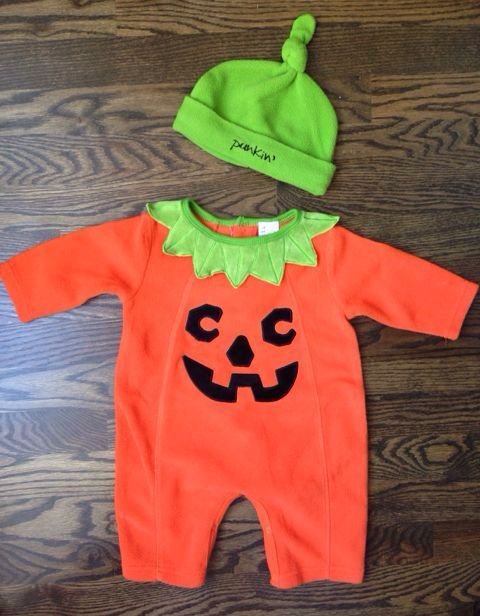 Check out this listing on Kidizen: Pumpkin Costume 0-6m #shopkidizen