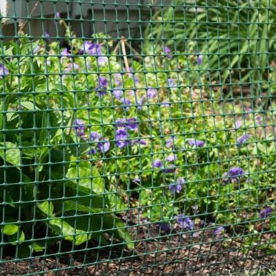 Everbilt 3 3 Ft X 25 Ft Green Plastic Garden Fence 889250eb