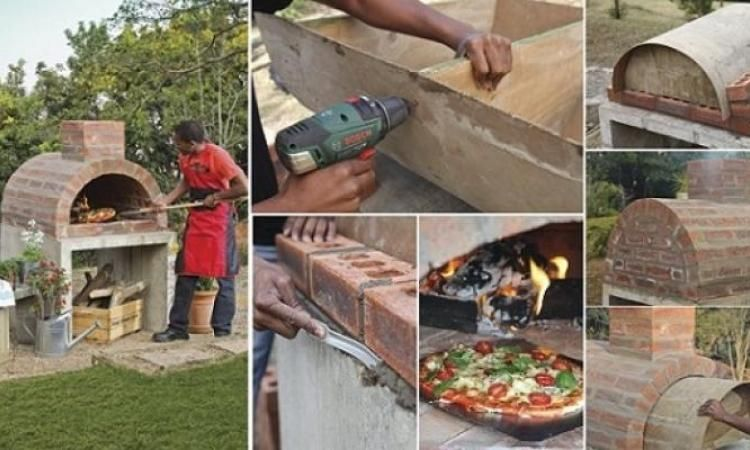 Fabriquer son propre four à Pizza! Pizzas and Pergolas