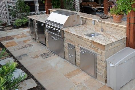 Our Outdoor Kitchens Can Include Grill