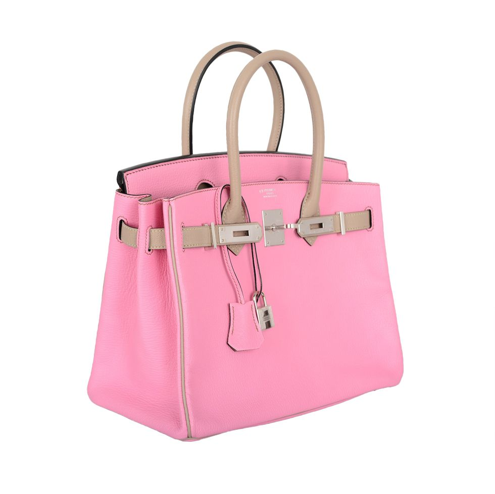 eeee5d87ca SPECIAL ORDER HERMES BIRKIN BAG 30cm BUBBLEGUM PINK   GRIS T CHES.  BUBBLEGUM PINK WITH GRIS TOURTERELLE. BOTH COLORS TOGETHER ARE TRULY TO DIE  FOR!!