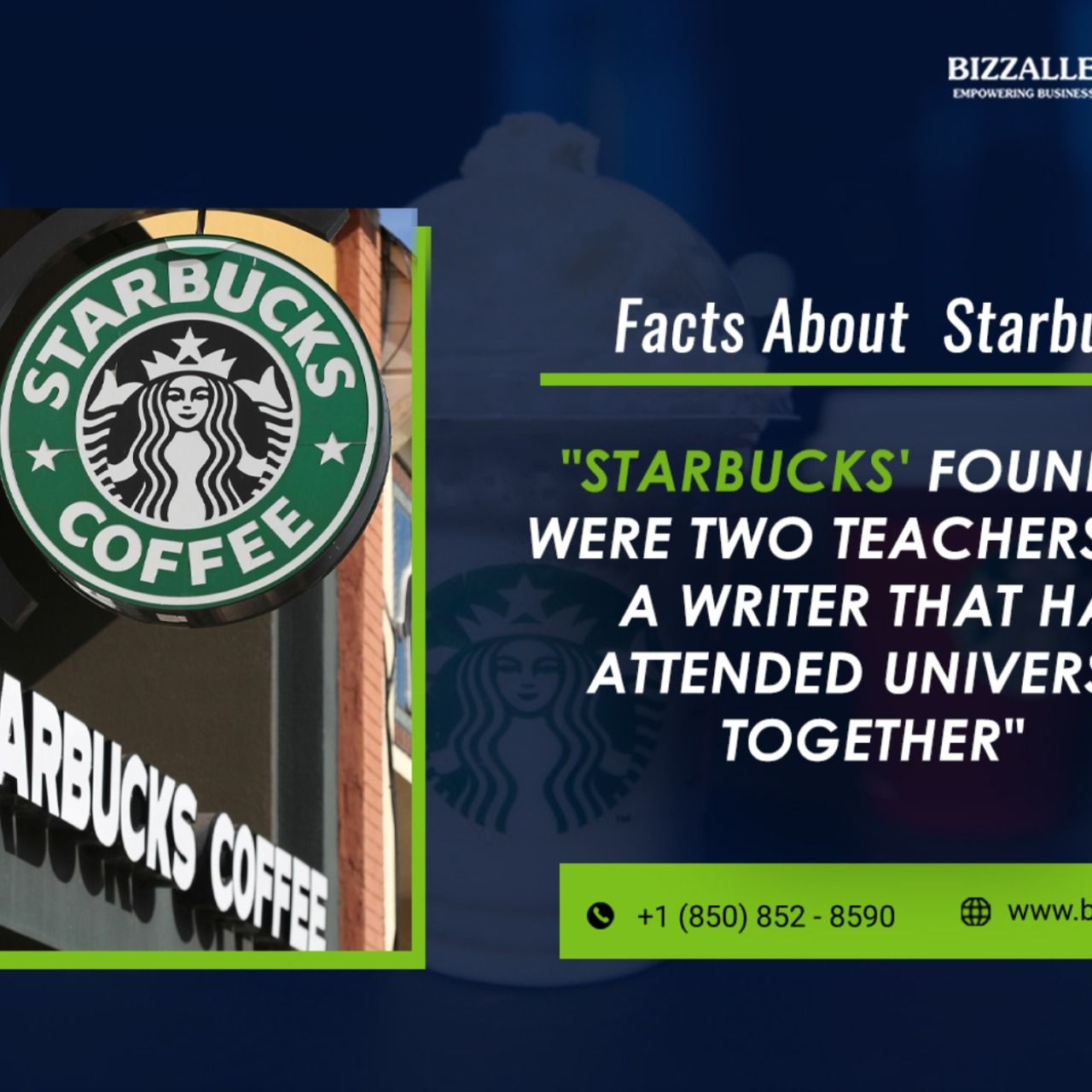Starbucks Facts in 2020 Business blog, Starting a