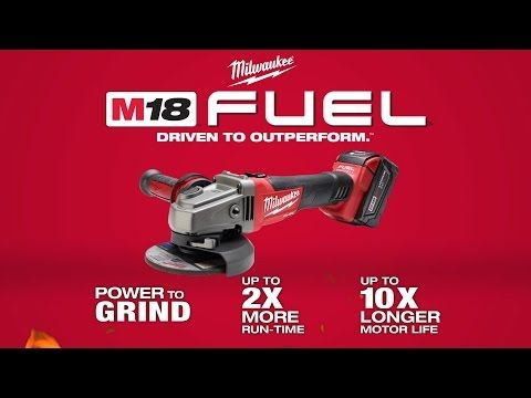 Milwaukee® M18 FUEL™ 4-1/2