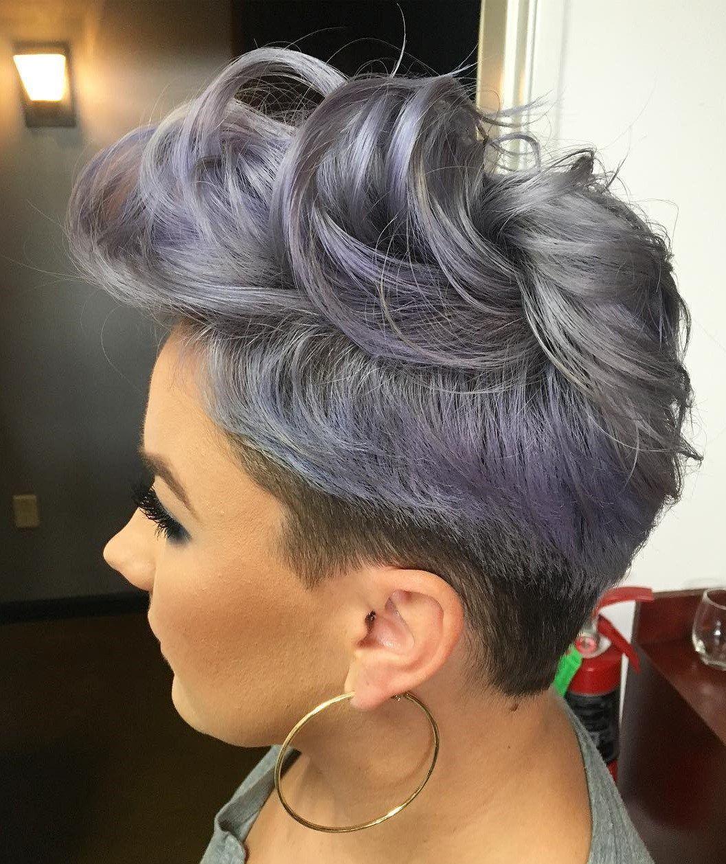 The Prettiest Pastel Purple Hair Ideas Short Hair Styles Pastel Purple Hair Hair Color Pastel