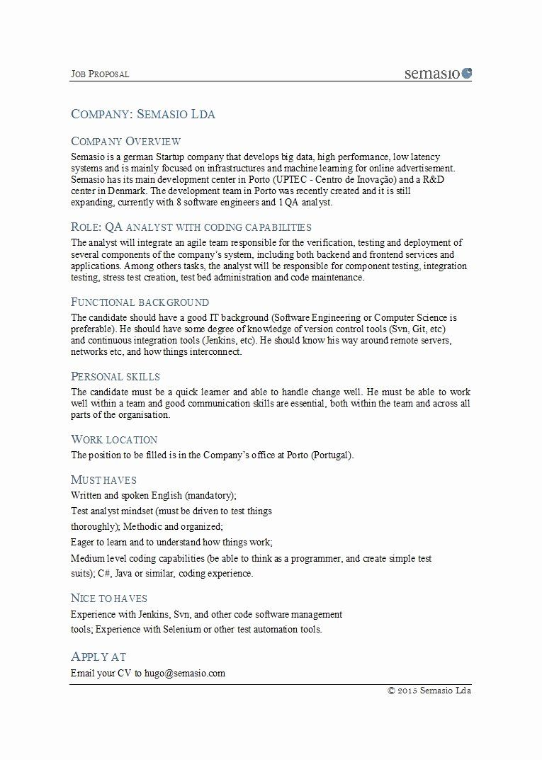 New Position Proposal Template Lovely 43 Best Job Proposal Templates Free Download Template La Proposal Templates Proposal Template Free Free Proposal Template