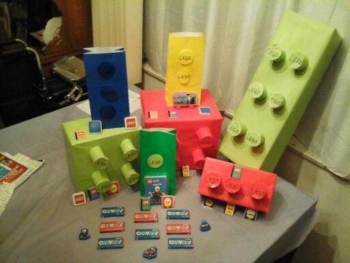 Homemade Lego boxes