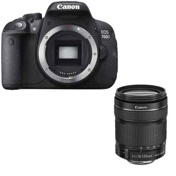 Canon Eos 700d Dslr Body Canon Ef S 18 135mm Is Stm Lens Kit Cameras And Accessories Canon Digital Slr Camera Canon Dslr Camera
