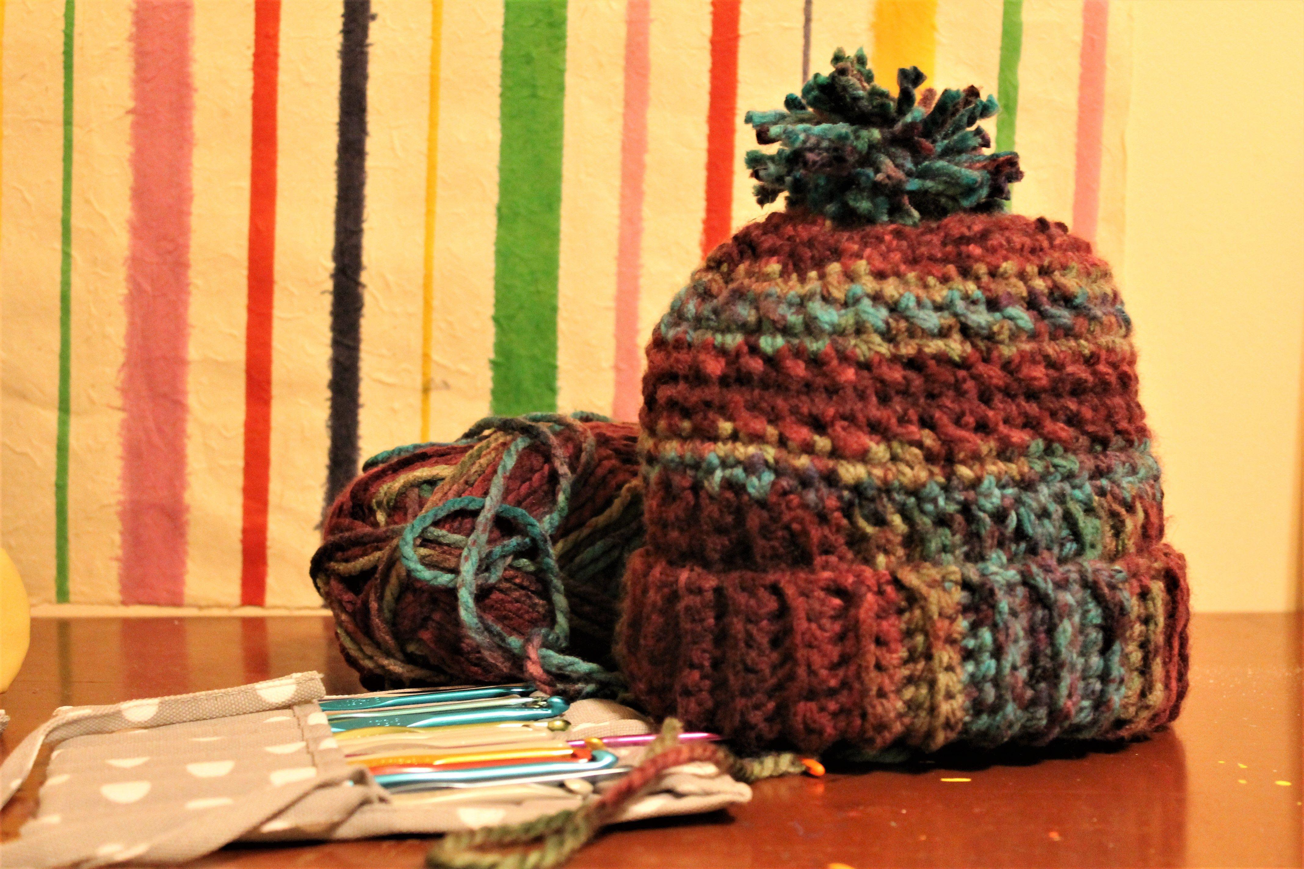 One Day Crochet Winter Hat | Pinterest | Tejido