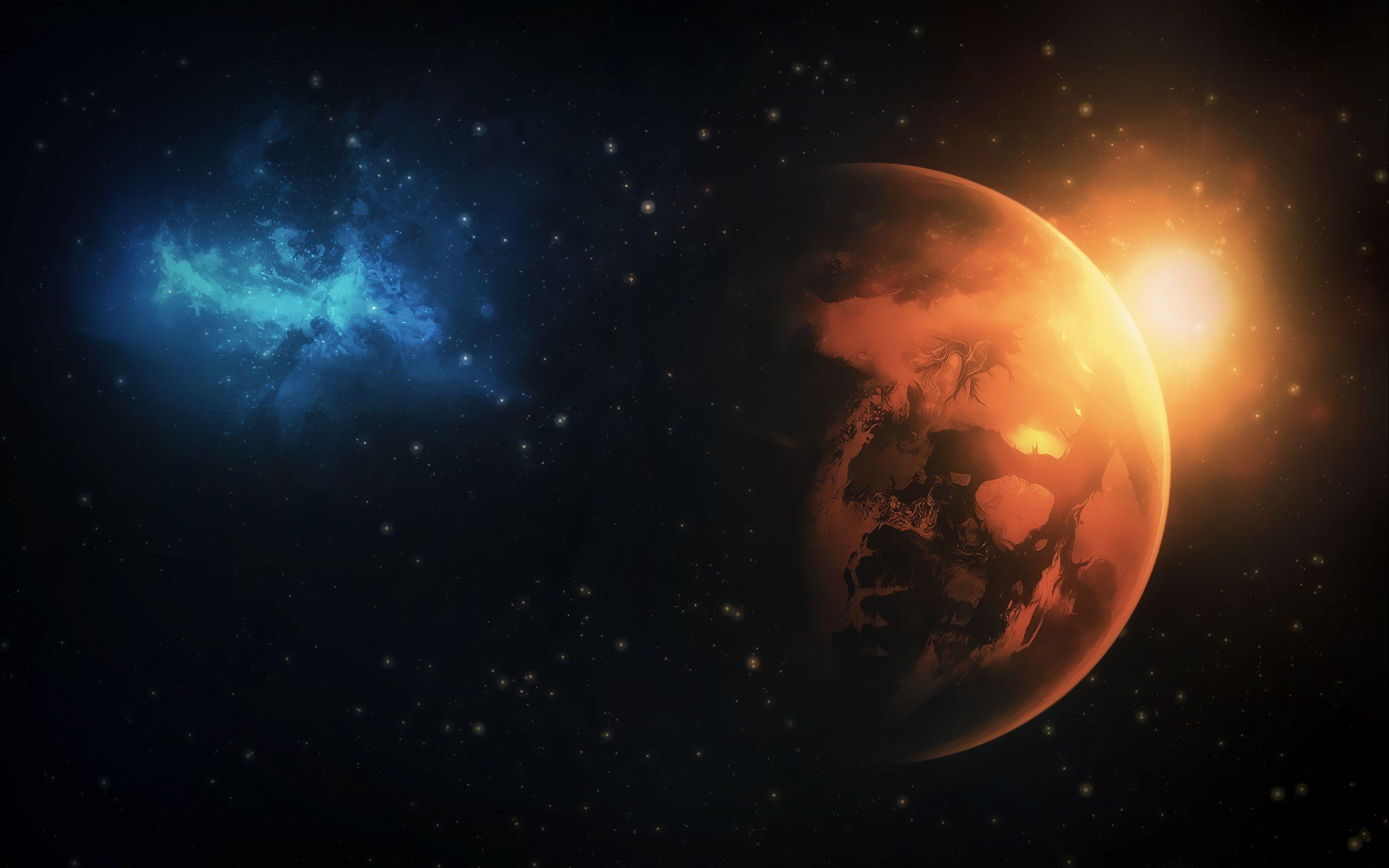 Planet Galaxy Wallpaper